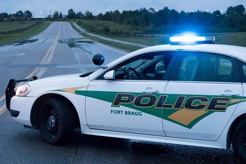 Машина полицейского