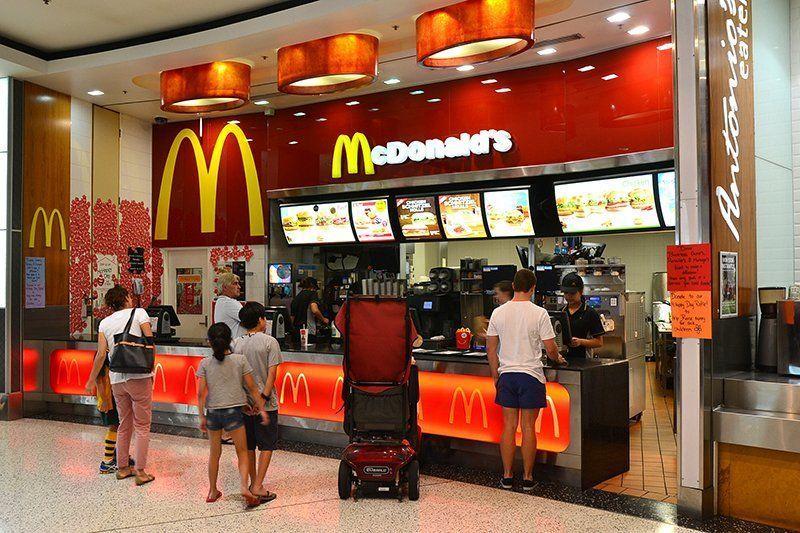 Клиенты в Макдональдсе