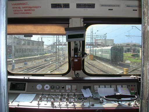 Окно в поезде