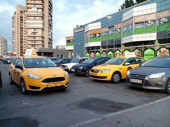 Автомобили Яндекса