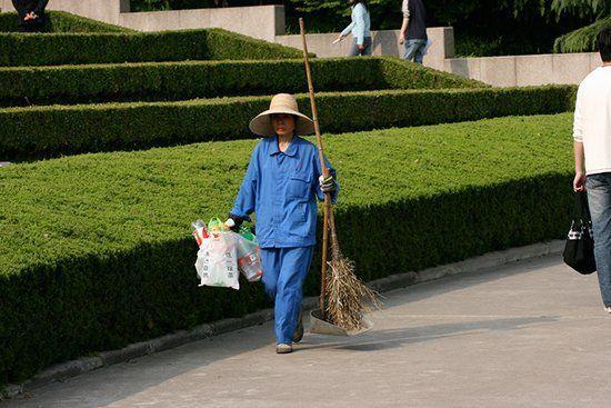 Дворник во Вьетнаме