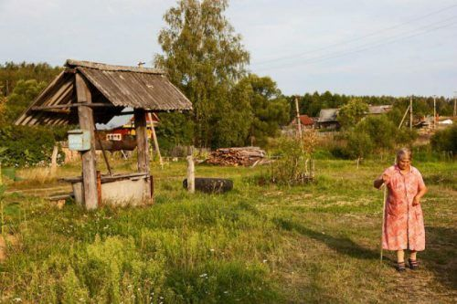 Деревня бабы Нины