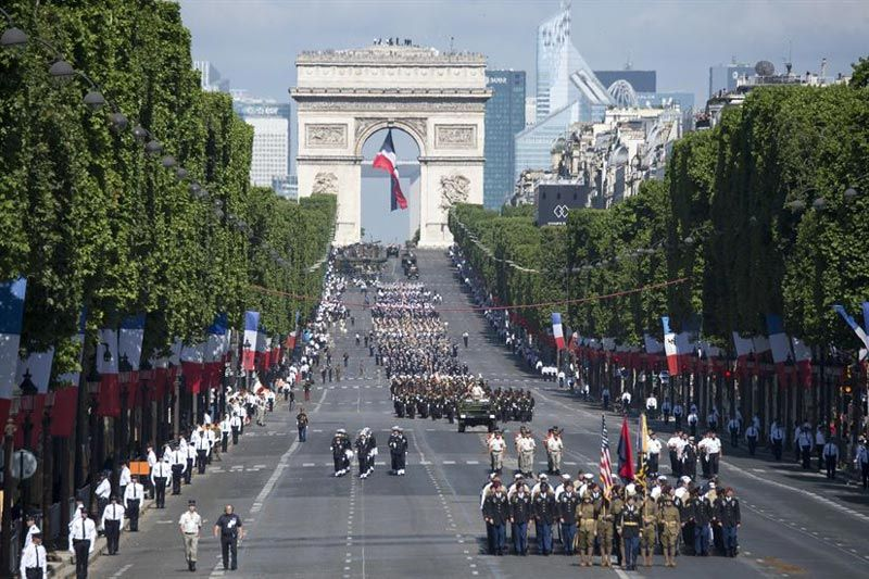 Зарплата во Франции и Париже