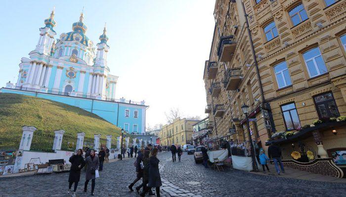 Улочка на Украине